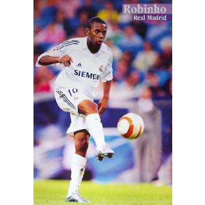 ロビーニョ(レアルマドリッド05/06)ポスター|footballfan