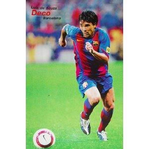 デコ(バルセロナ05/06)ポスター|footballfan