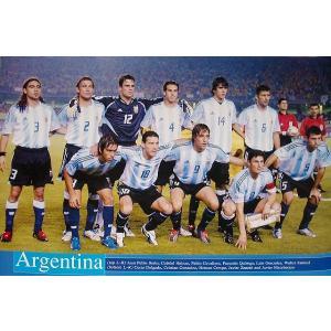 アルゼンチン代表2006 ポスター【ワールドカップ関連】|footballfan