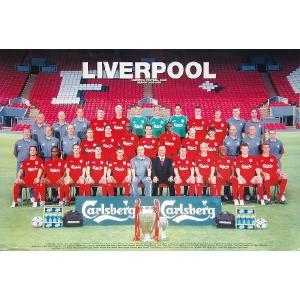 リバプール 集合写真2005/06 ポスター|footballfan