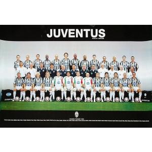 ユベントス 集合写真2005/06 ポスター|footballfan