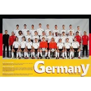 ドイツ代表(ワールドカップ2006)ポスター|footballfan
