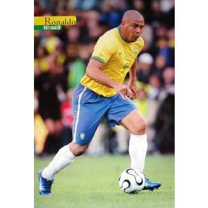 ロナウド(ブラジル代表/ワールドカップ2006)ポスター|footballfan