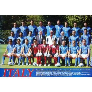 イタリア代表(ワールドカップ2006)ポスター|footballfan
