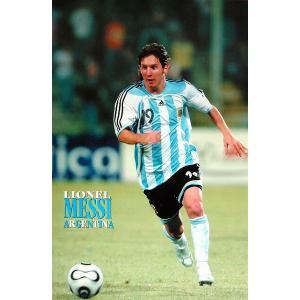 メッシ(アルゼンチン代表/ワールドカップ2006)ポスター|footballfan