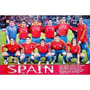 スペイン代表(ワールドカップ2006)ポスター|footballfan