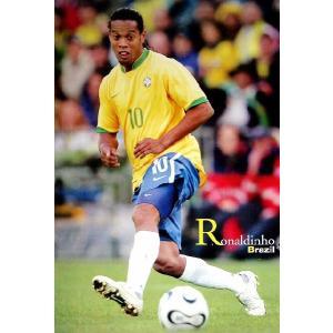 ロナウジーニョ(ブラジル代表/ワールドカップ2006)ポスター|footballfan