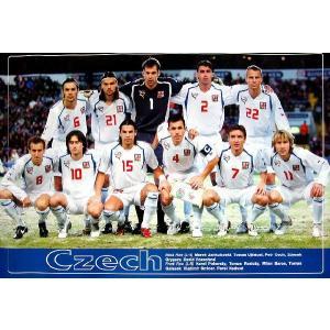 チェコ代表(ワールドカップ2006)ポスター|footballfan
