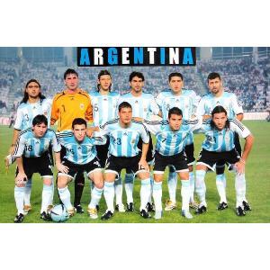 アルゼンチン代表(ワールドカップ2006)ポスター|footballfan