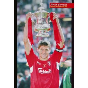 ジェラード(リバプール) FAカップ2006優勝 ポスター|footballfan