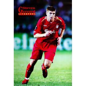ジェラード(リバプール) 2006/2007 ポスター|footballfan