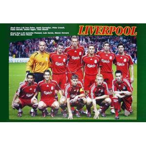 リバプール2006/2007 11人 ポスター|footballfan