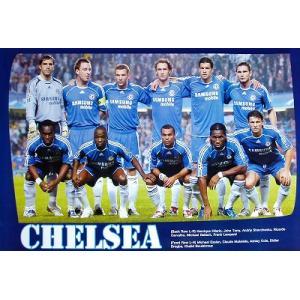 チェルシー2006/2007 11人 ポスター|footballfan