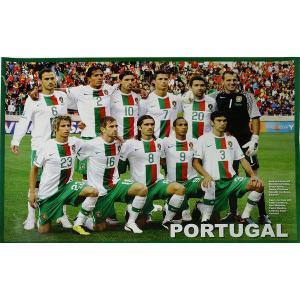 P482 ポルトガル代表(2010ワールドカップ 南アフリカ) 集合写真 ポスター|footballfan