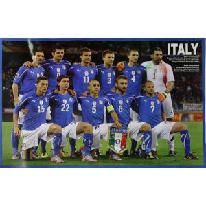 P483 イタリア代表(2010ワールドカップ 南アフリカ) 集合写真 ポスター|footballfan