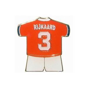 ライカールト/RIJKAARD3(オランダ代表) ユニフォームピンバッジ|footballfan