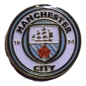 マンチェスターシティ ピンバッジ〔pb-e18〕 footballfan