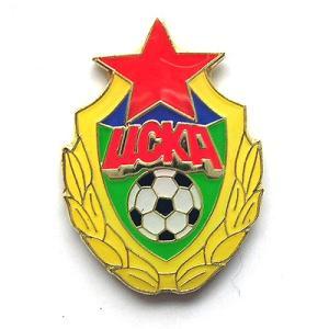 CSKAモスクワ(ロシア)ピンバッジ|footballfan