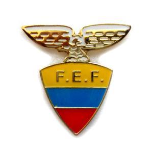 エクアドル代表  ピンバッジ |footballfan