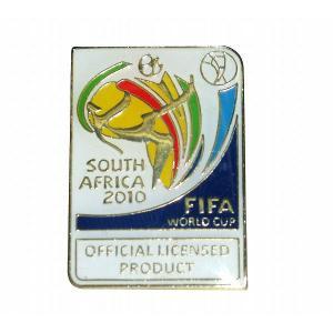 2010南アフリカワールドカップ エンブレム ピンバッジ  〔pbw2010-1〕|footballfan