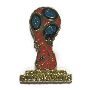 ロシアワールドカップ2018 ロゴ ピンバッジ |footballfan