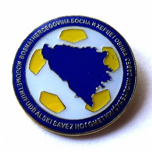 ボスニアヘルツェゴビナ代表 ピンバッジ |footballfan