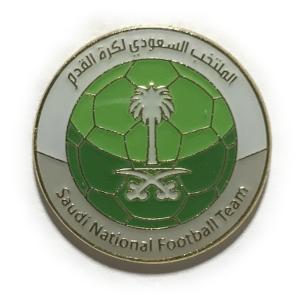 サウジアラビア代表(B)  ピンバッジ [pbw64]|footballfan