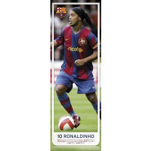 ロナウジーニョ(バルセロナ) ドア・ポスター|footballfan
