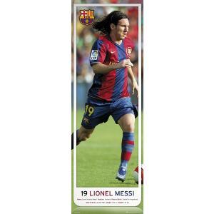 メッシ(バルセロナ) ドア・ポスター|footballfan