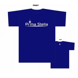 PrimaStella ロゴ Tシャツ〔ブルー〕|footballfan