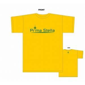 PrimaStella ロゴ Tシャツ〔イエロー〕 footballfan