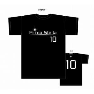 PrimaStella ロゴNo.10 Tシャツ〔ブラック〕 footballfan