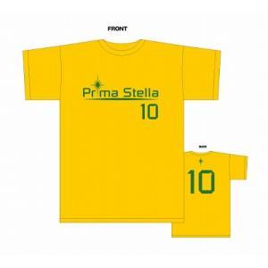 PrimaStella ロゴNo.10 Tシャツ〔イエロー〕 footballfan