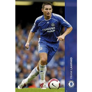 ランパード(チェルシー) 2007/2008 ポスター|footballfan