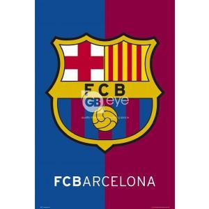 FCバルセロナ(バルサ) エンブレム ポスター〔psp0410〕|footballfan