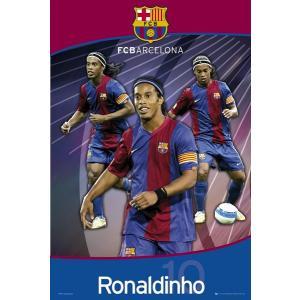 ロナウジーニョ・トリオ(バルセロナ) ポスター|footballfan