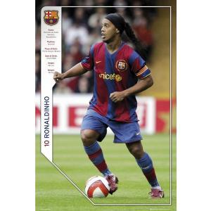 ロナウジーニョ(バルセロナ) ポスター|footballfan