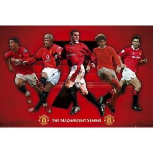 マンチェスターユナイテッド 「偉大なる背番号7」選手 ポスター〔psp0668〕|footballfan