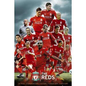 リバプールFC 「THE REDS」選手 ポスター〔psp0724〕|footballfan