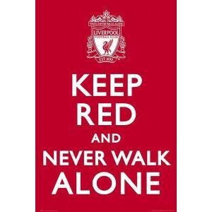 リバプールFC KEEP RED ポスター〔psp0729〕|footballfan