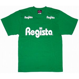 Regista ロゴ Tシャツ(グリーン×ホワイト)|footballfan