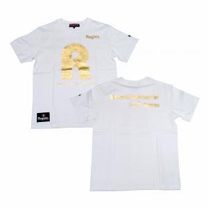 Regista R Tシャツ(ホワイト×ゴールド)|footballfan