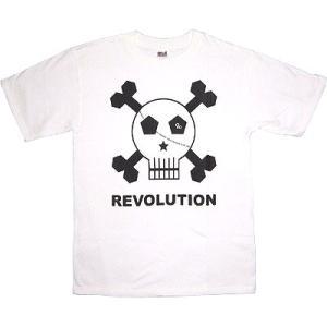REVOON Skull Tシャツ(白)|footballfan