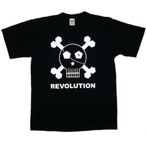 REVOON Skull Tシャツ(黒)|footballfan