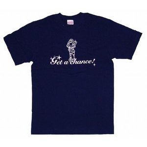SWEET☆FOOTBALL Get a Chance Tシャツ(ネイビー×ライトピンク)|footballfan