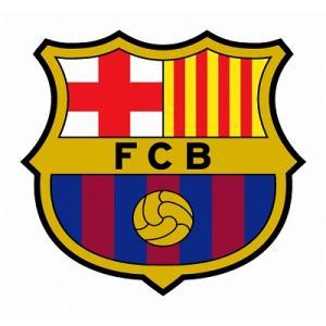 st074 FCバルセロナ エンブレム型ステッカー|footballfan