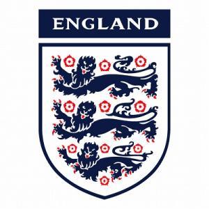 st086 イングランド 代表 エンブレム型ステッカー|footballfan