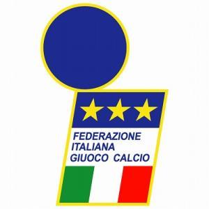 st087 イタリア代表 エンブレム型ステッカー|footballfan