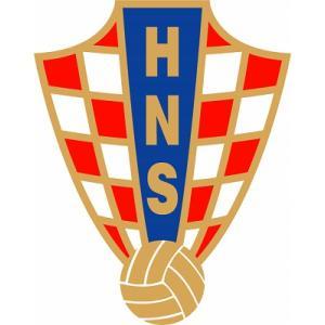 st091 クロアチア代表 エンブレム型ステッカー|footballfan