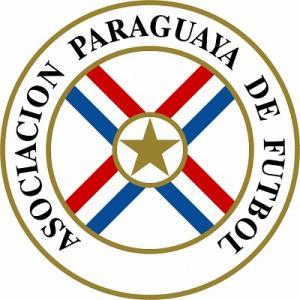 st110 パラグアイ代表 エンブレム型ステッカー footballfan